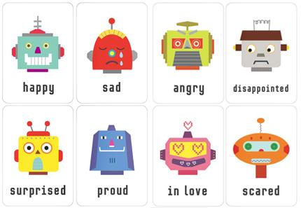 graphic regarding Free Printable Emotions Flashcards known as trial serveur